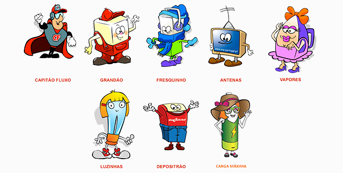Personagens dos REEE